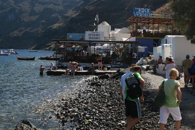 Kamari And Santorini Snorkelling